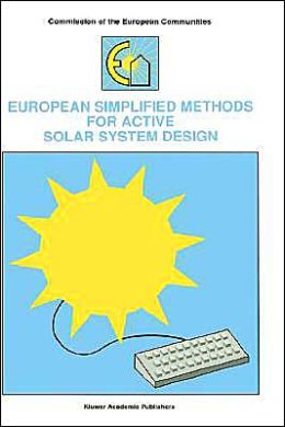 European Simplified Methods for Active Solar System Design