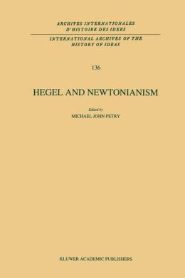 Hegel and Newtonianism