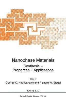 Nanophase Materials: Synthesis - Properties - Applications