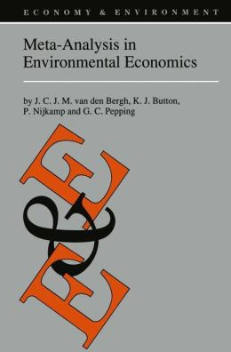 Meta-Analysis in Environmental Economics