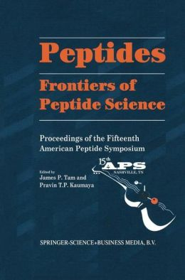 Peptides: Frontiers of Peptide Science