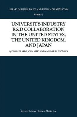 University-Industry R&D Collaboration in the United States, the United Kingdom, and Japan