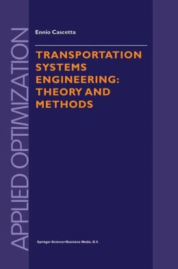 Transportation Systems Engineering