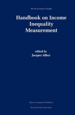 Handbook of Income Inequality Measurement