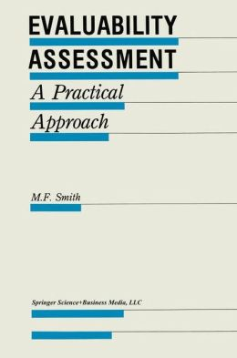 Evaluability Assessment: A Practical Approach