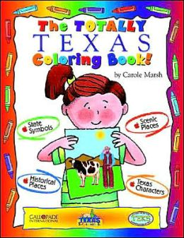 The Totally Texas Coloring Book