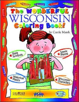The Wonderful Wisconsin Coloring Book