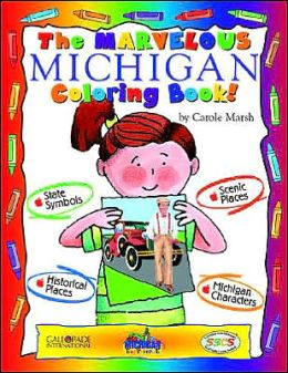 The Marvelous Michigan Coloring Book