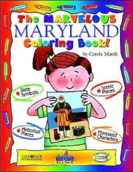 The Magnificant Maryland Coloring Book (Maryland Experience! Series)