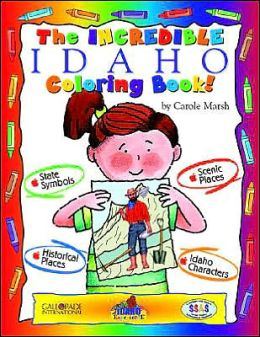 The Cool Idaho Coloring Book