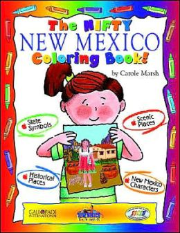 The Cool New Mexico Coloring Book
