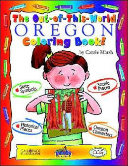 The Cool Oregon Coloring Book