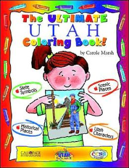 The Cool Utah Coloring Book