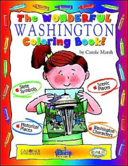 The Cool Washington Coloring Book