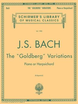 Goldberg Variations: Piano Solo