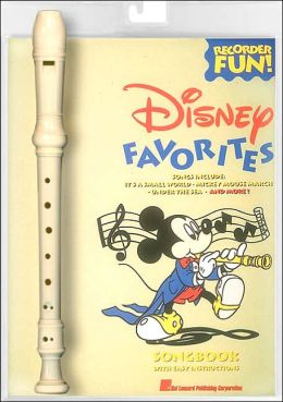 Disney Favorites Recorder Fun Pack - Recorder and Songbook