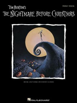 Tim Burton's the Nightmare Before Christmas: Piano Book
