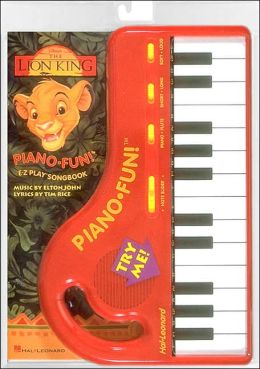 The Lion King Piano Fun Pack with Keyboard
