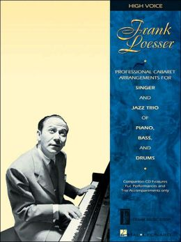 Frank Loesser: Sing the Songs of (High Voice book/cd package)