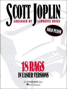 18 Rags in Easier Versions: Piano Solo