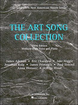 Art Song Collection, Medium High Voice and Piano