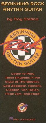 Beginning Rock Rhythm Guitar Pocket Guide