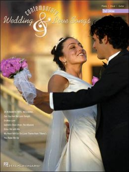 Contemporary Wedding and Love Songs - Piano/Vocal/Guitar