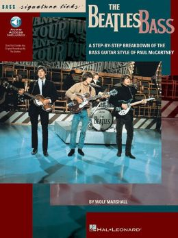 Beatles Bass Book (Book. & CD)