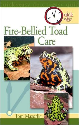 Quick and Easy Fire-Bellied Toad Care