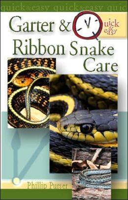 Quick and Easy Garter and Ribbon Snake Care