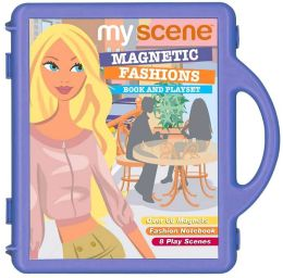 Barbie My Scene Magnetic Fashions: Book and Playset