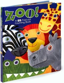 Zoo!: A Big Fold-Out Counting Book