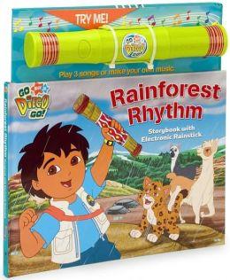 Rainforest Rhythm: Book and Electronic Rainstick (Go Diego Go! Series)