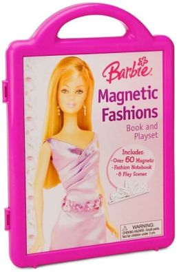Barbie Magnetic Fashions: Book and Playset