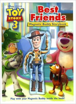 Toy Story 3 Best Friends Storybook and Magnetic Buddy