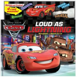 Disney/Pixar/Cars 2: World Grand Prix Loud as Lightning!: Storybook and Sound FX Car