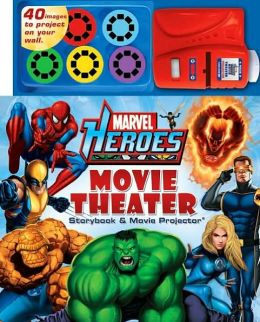 Marvel Heroes Movie Theater Storybook and Movie Projector
