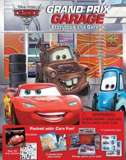 Cars 2 Grand Prix Garage: Storybook and Garage