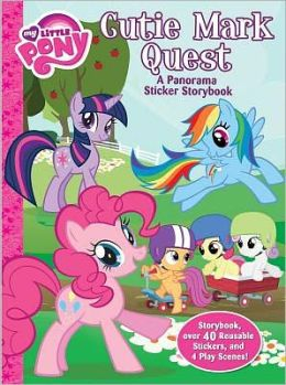 My Little Pony Cutie Mark Quest Panorama Sticker Storybook