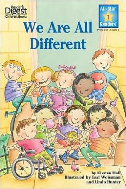 We Are All Different (Reader's Digest) (All-Star Readers)