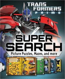 Transformers Super Search: Picture Puzzles, Mazes and More