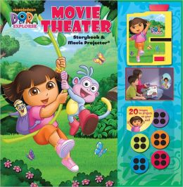 Dora the Explorer Movie Theater Storybook and Movie Projector