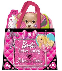 Barbie Loves Lacey/Adora a Lacey: An English/Spanish Book