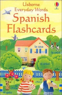 Everyday Words Spanish: Flashcards