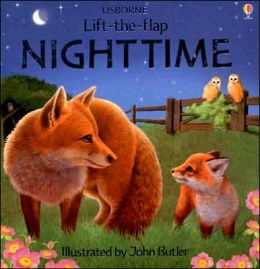 Nighttime (Usborne Lift-the-Flap Series)
