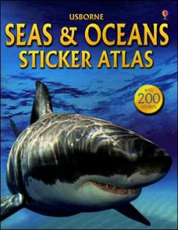 Sticker Atlas of Seas & Oceans
