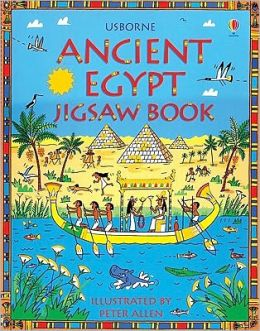 Ancient Egypt Jigsaw Book