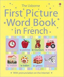 The Usborne First Picture Word Book in French