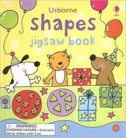 Usborne Shapes Jigsaw Book