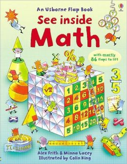 See Inside Math: An Usborne Flap Book (See Inside Board Book Series)